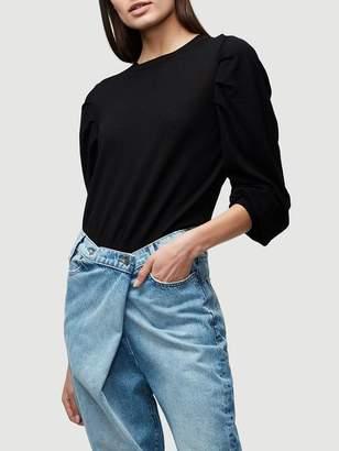 Frame Crop Volume Sweater
