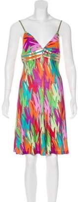Dolce & Gabbana Printed Mini Dress