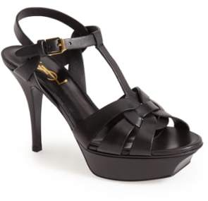 Saint Laurent Tribute T-Strap Sandal