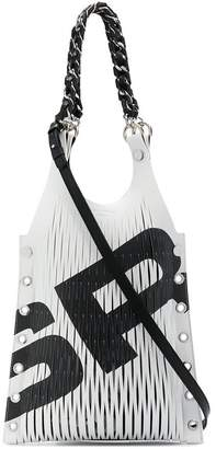 Sonia Rykiel cut out tote bag