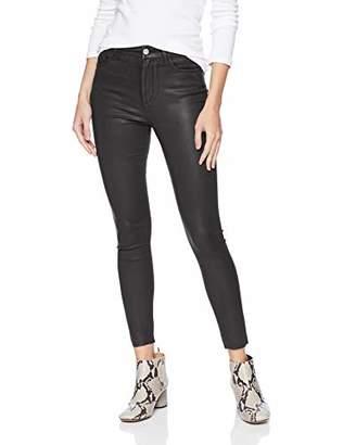 Joe's Jeans Women's Charlie HIGH Rise Coated Skinny Ankle