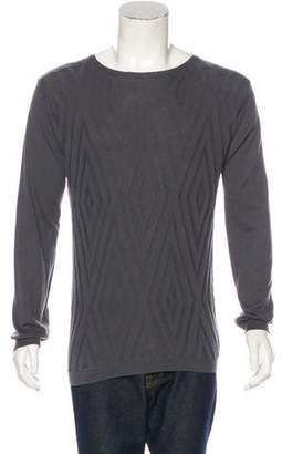 CNC Costume National C'N'C Geometric Knit Sweater