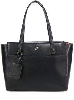 Tory Burch Tory Burch Parker Small Leather Tote