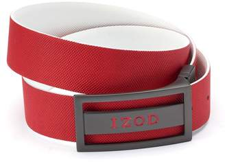 Izod Men's Reversible Leather Golf Belt