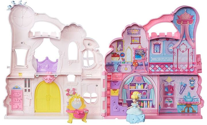 Disney Disney Princess Little Kingdom Play 'n Carry Castle by Hasbro