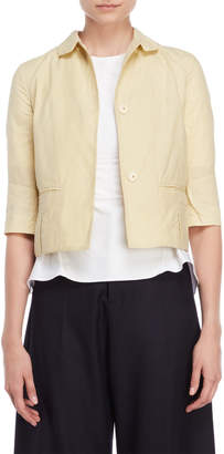 Marni Cropped Quarter Sleeve Jacket