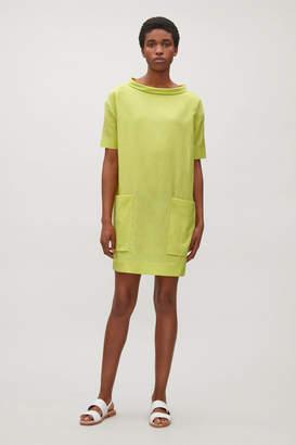 Cos STAND COLLAR DRESS