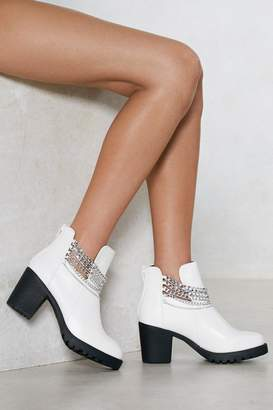 Nasty Gal Chain It in Ankle Bootie
