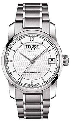 Tissot (ティソ) - [ティソ]TISSOT 腕時計 TITANIUM AUTOMATIC Lady T087.207.44.037.00 レディース 【正規輸入品】