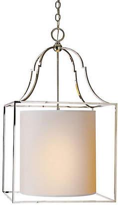 Visual Comfort & Co. Gustavian Lantern - Polished Nickel