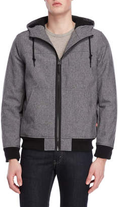 Levi's Sherpa-Lined Hooded Softshell Coat