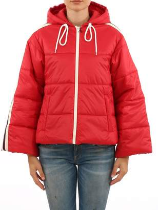 Gucci Red Short Nylon Jacket