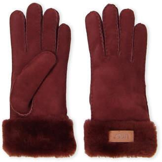 UGG Turn Cuff Sheepskin Gloves