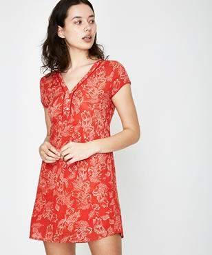 Amuse Society On The Low Dress Rebel Red