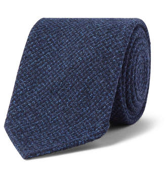 Drakes Drake's - 8cm Puppytooth Woven Tie