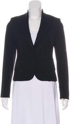 Burberry Long Sleeve Structured Blazer