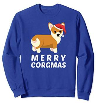 Corgi Fun Christmas Sweatshirt