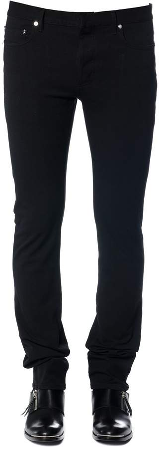 Dior Homme Stretch Cotton Jeans With Bee