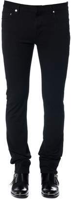 Christian Dior Stretch Cotton Jeans With Bee