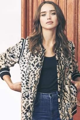 Saylor Emanuela Leopard Jacket
