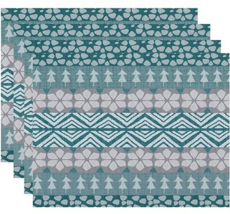 Holiday Essence FairIsle Geometric Print Placemat