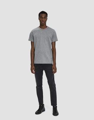 Moncler S/S Crewneck T-Shirt in Light Grey