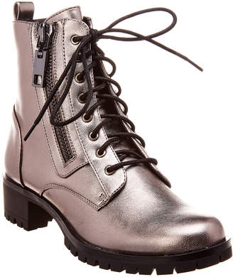 Dolce Vita Palmer Leather Combat Boot