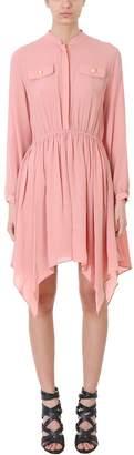 Pierre Balmain Pink Silk Dress