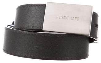 Helmut Lang Leather Waist Belt