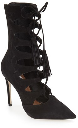 Women's Steve Madden 'Piper' Lace-Up Bootie $149.95 thestylecure.com