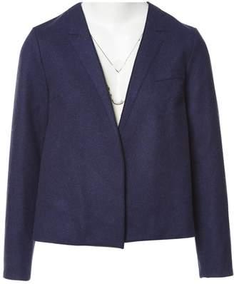Roksanda Ilincic Navy Wool Jacket for Women