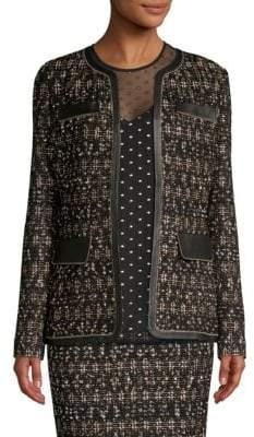 St. John Gilded Tweed Jacket