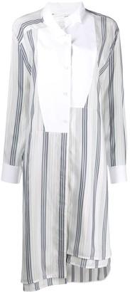 Loewe off centre striped shirt