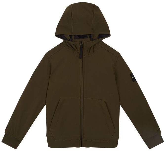 Soft Shell Hooded Jacket