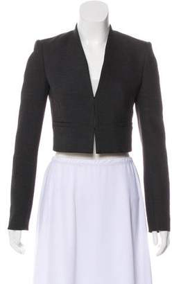 Alice + Olivia Cropped Open Front Jacket w/ Tags