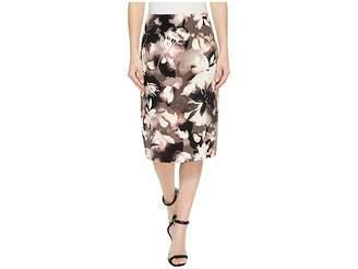 Ellen Tracy High Waist Pencil Women's Skirt