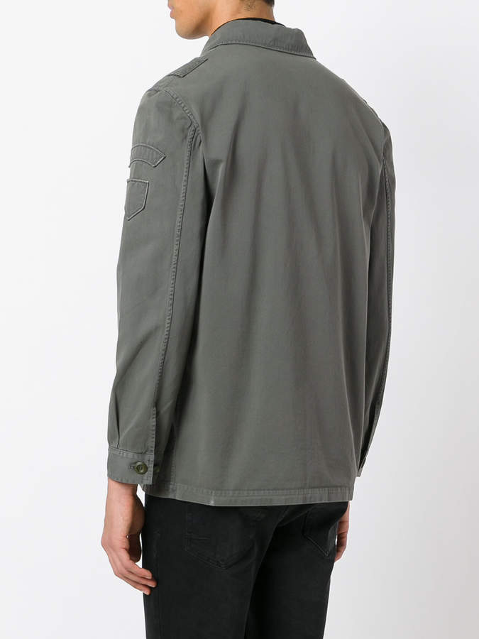 Golden Goose Deluxe Brand single breasted military jacket