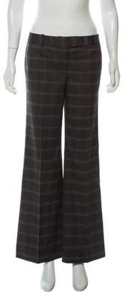 Calvin Klein Collection Mid-Rise Wide-Leg Pants