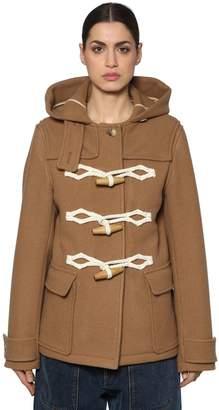 J.W.Anderson Wool Felt Duffle Coat