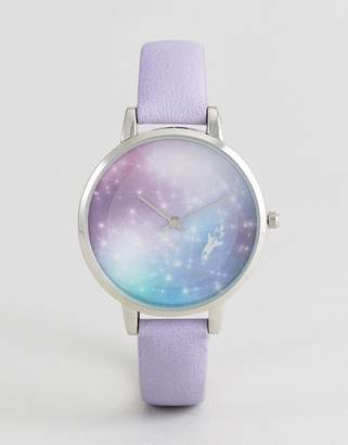 Asos To the Stars Moving Dial Watch