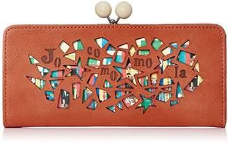 Jocomomola (ホコモモラ) - [ホコモモラ] 長財布 「マヒア」がま口型長財布 5381304 34 オレンジ