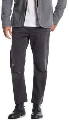 AllSaints Baker Sid Straight Leg Crop Jeans