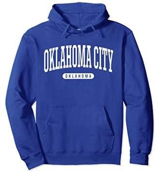 Oklahoma City Hoodie Sweatshirt College University Style OK