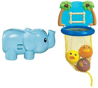 Munchkin Bubble Spout Guard with Bath Dunkers Toy Set