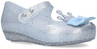 Mini Melissa Crown and Bow Motif Shoes