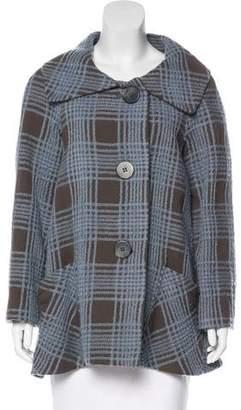 Philosophy di Alberta Ferretti Textured Wool Coat