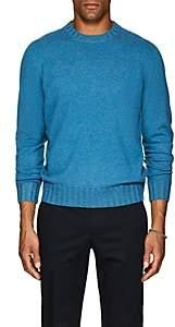 Fioroni Men's Duvet Cashmere Crewneck Sweater - Turquoise