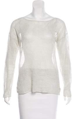 Ralph Lauren Black Label Knit Long Sleeve Top