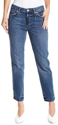 Free People Slim Fit Boyfriend Jeans