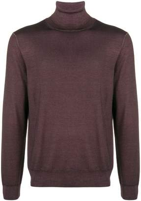 Canali slim-fitted turtleneck
